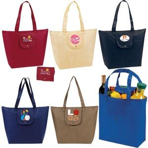 Fold-Up Tote Bag