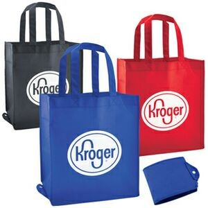 Non-Woven Foldable Shopping/Grocery Tote Bag
