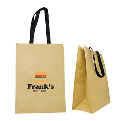 Poirier Kraft Insulated Grocery Tote