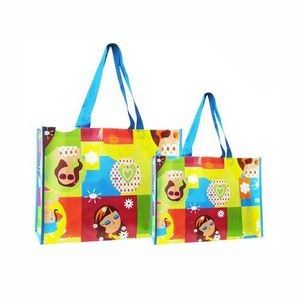 Reusable Laminated Non-woven Shopping Tote Bag Grocery Bags