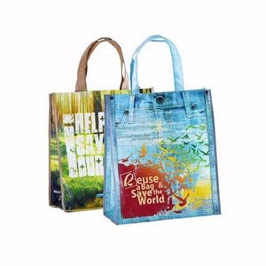 Laminated Non-woven Shopping Tote Bag Reusable Grocery Bags